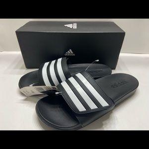 NEW Adidas Adilette Adjustable Slide Sandals 8-13